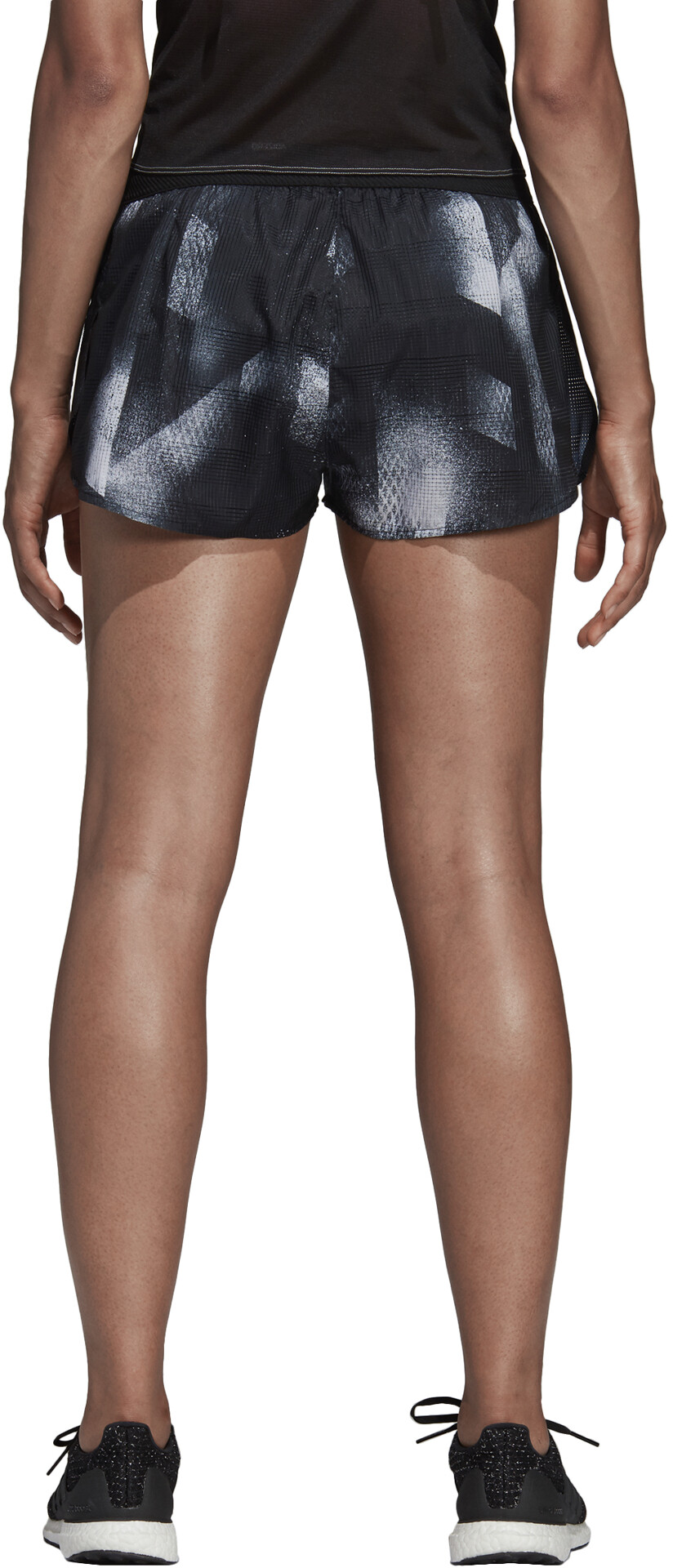 Cortos Running Mujer Pantalones Grisnegro 2 Split Sub Adidas 1qnPxBwax